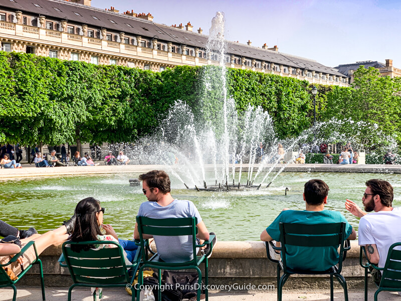 Palais Royal Garden (Jardin du Palais Royal)