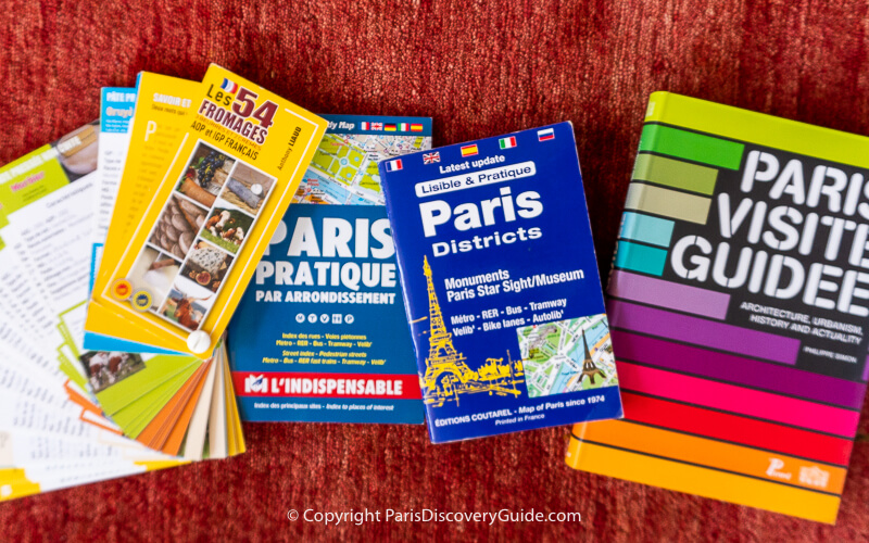 Useful and interesting books about Paris for you to buy once you're in Paris