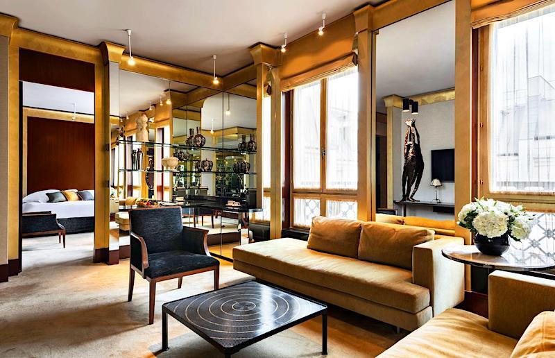 Suite at Park Hyatt Paris Vendôme
