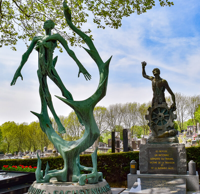 Memorials to deportees to Nazi concentration and death camps - Photo credit: Chris