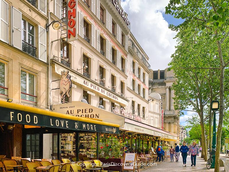Au Pied de Cochon in the Les Halles neighborhood