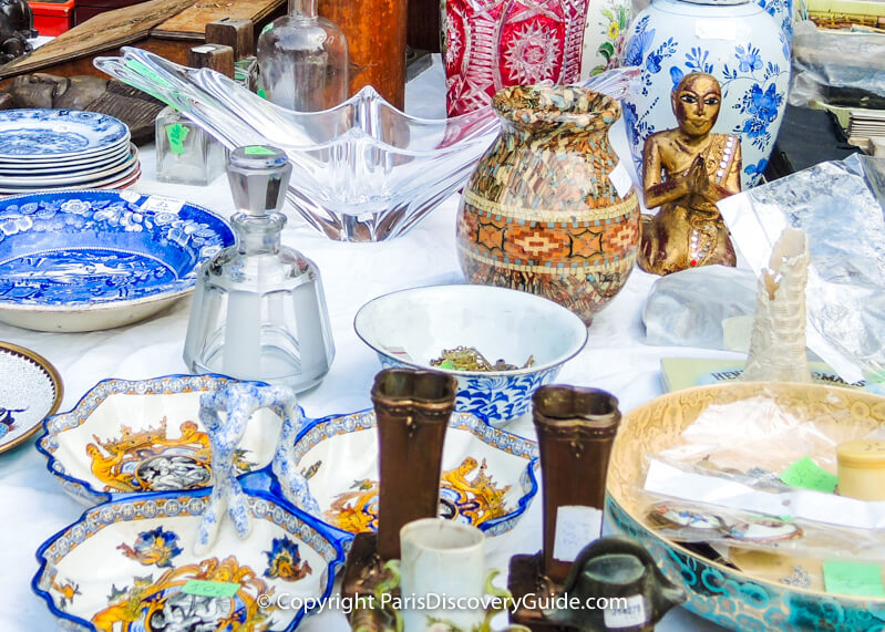 Smaller Paris flea markets with big bargains