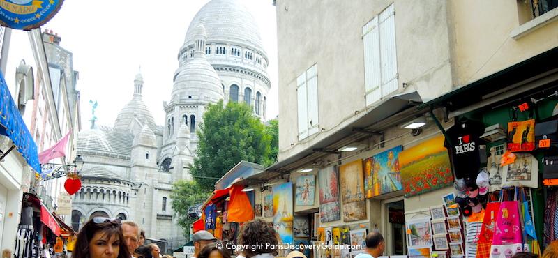 Place de Tertrenext to Sacré Coeur in Paris's 18th Arrondissement