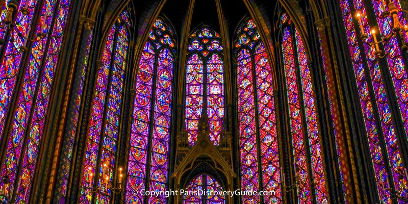 Sainte-Chapelle - Popular Paris venue for classical concerts