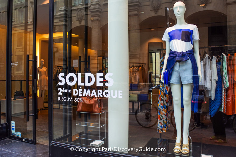 Paris winter sales 2019 how to save paris discovery guide - Eme demarque soldes ...