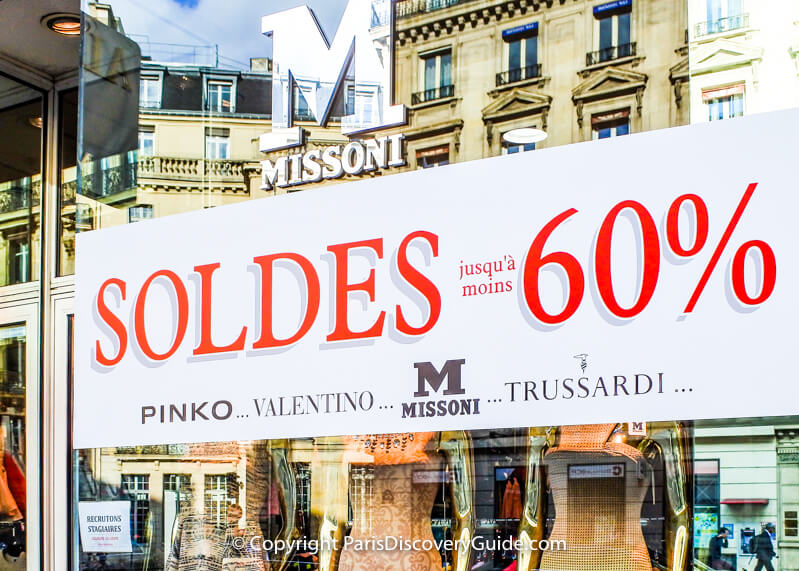 55ba4c8ab92 Paris Summer Sales 2019 - How to Save - Paris Discovery Guide
