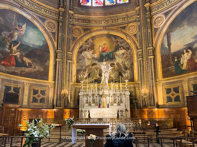 Chapel of the Virgin in Eglise Saint Eustache