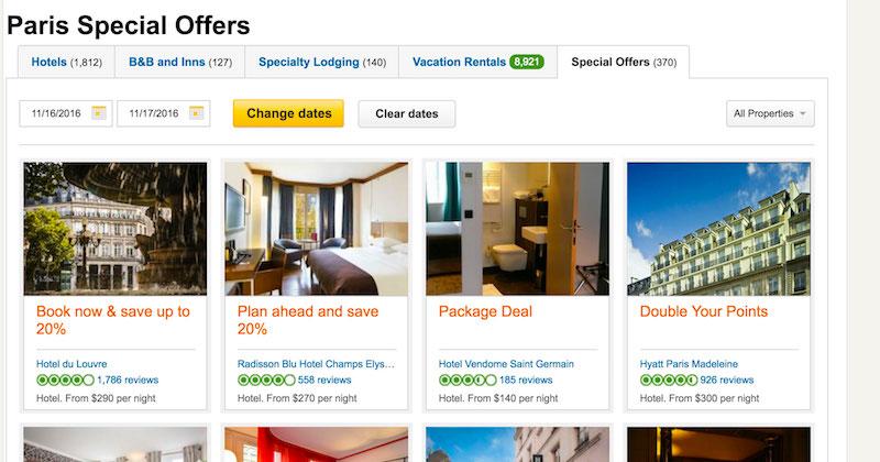 TripAdvisor Paris, France special offers