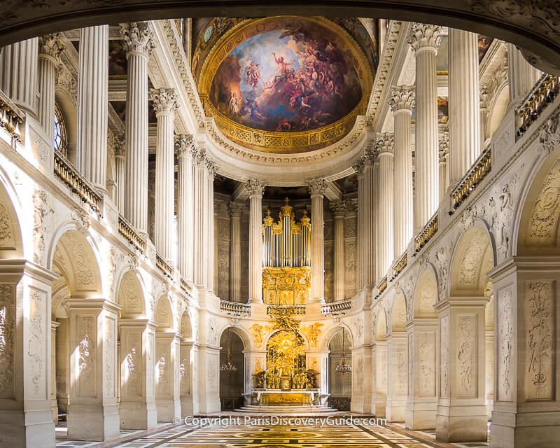 The Royal Chapel at Versailles Palace