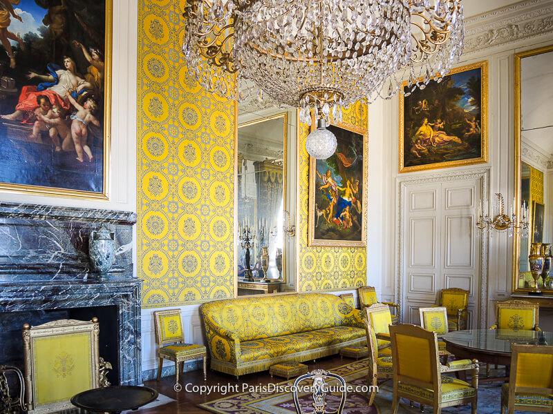 Louis-Philippe I's family room at Grand Trianon during his reign as King of France from 1830-1848