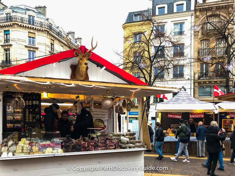 Les Halles Christmas Market chalet