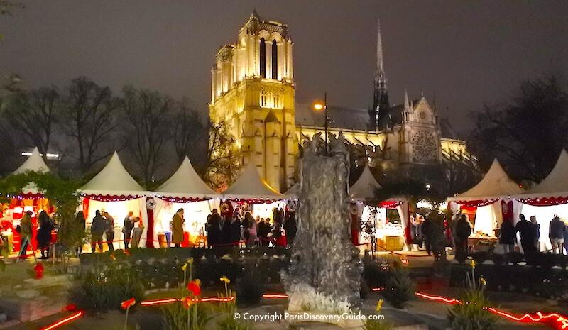 Paris Notre Dame Christmas Market