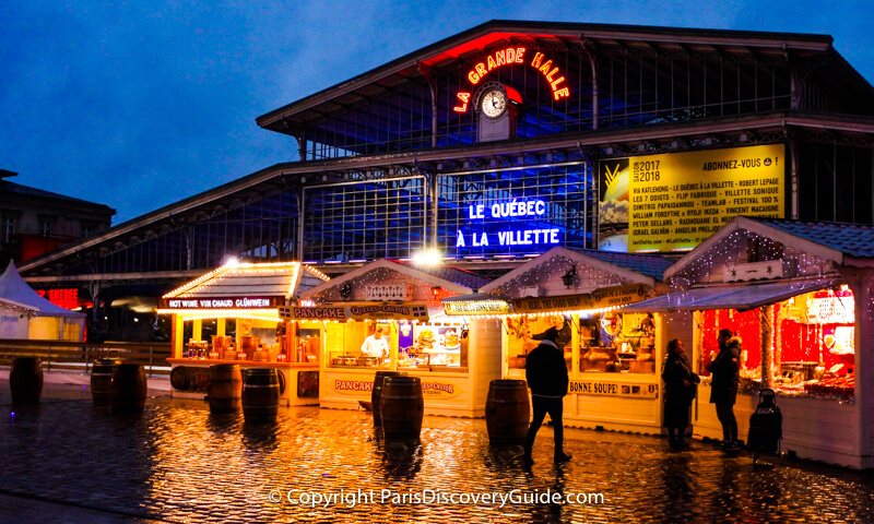Christmas Market at Parc de la Villette