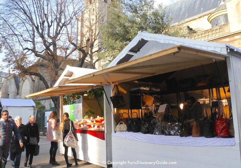 Paris Christmas Market at Saint-Germain-des-Pres