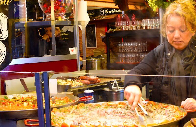 Paris Christmas Markets along Champs Elysees