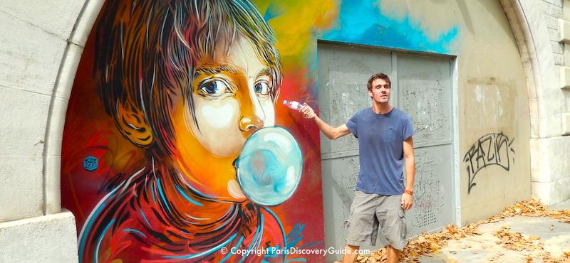 Street art in Paris's 11th Arrondissement
