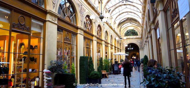 Galerie Vivienne, covered shopping arcade in Paris's 2nd Arrondissement