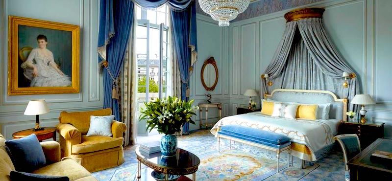 Palace Shangri-La Hotel in Paris's 16th Arrondissement