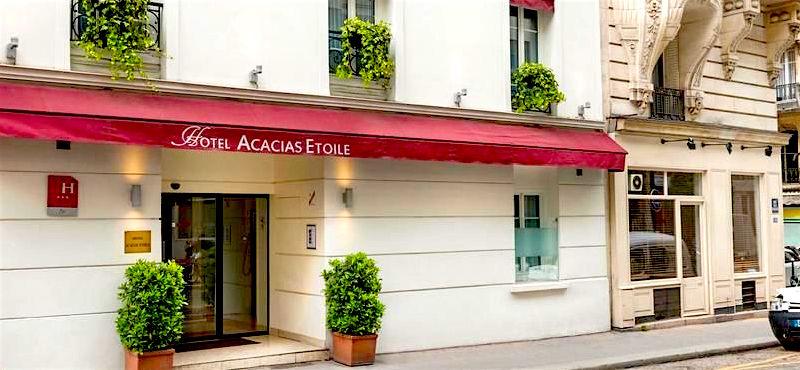 Hôtel Acacias Étoile near the Arc de Triomphe