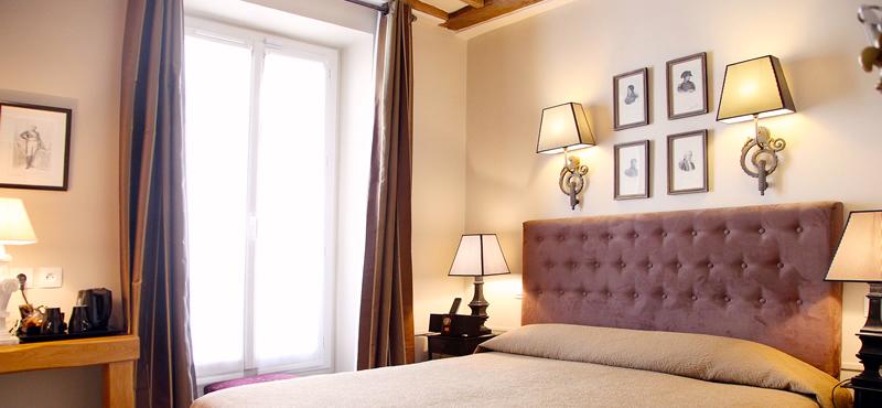 Guestroom at Hôtel Saint-Louis en Île