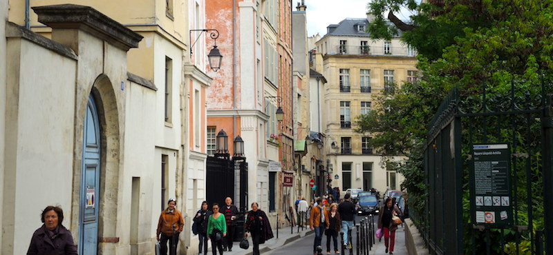 Upper Marais in Paris's 3rd Arrondissement - Rue du Parc Royal