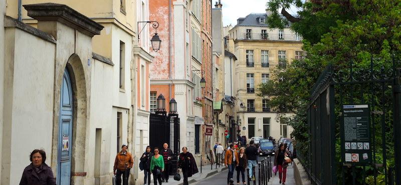Upper Marais in Paris's 3rd Arrondissement - Rue du Parc Royal