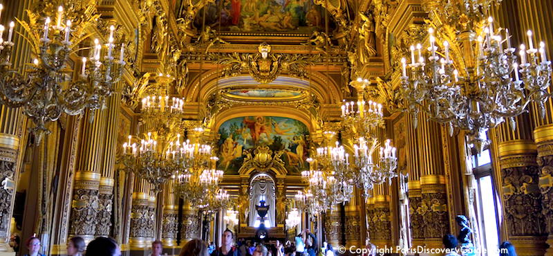 Opéra Garnier (the Paris Opera House), in the 9th Arrondissement