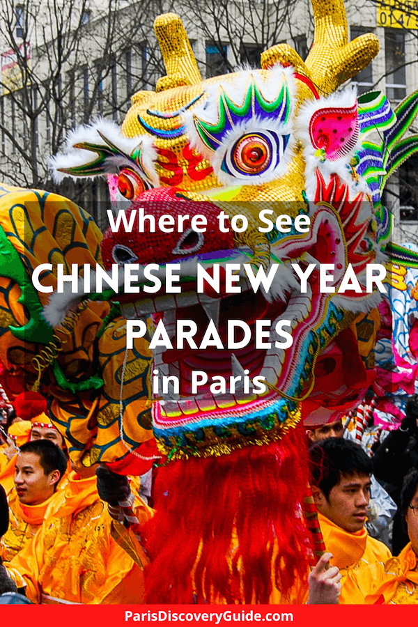 Chinese New Year parade in Paris's largest Chinatown