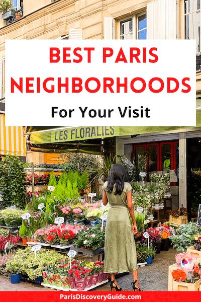 Florist shop on Rue Cler in Paris's 7th district