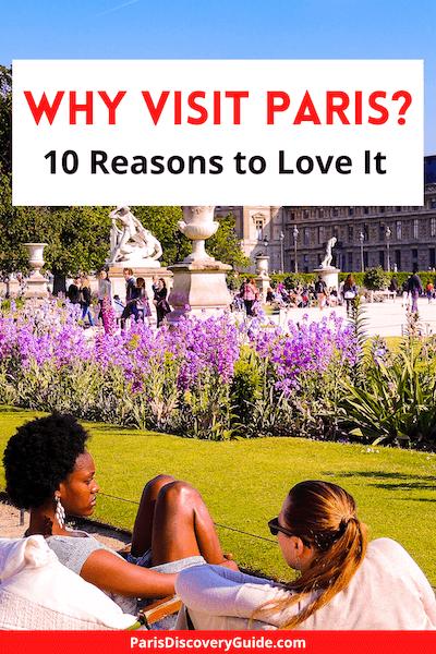 Tuileries Garden near the Louvre in Paris