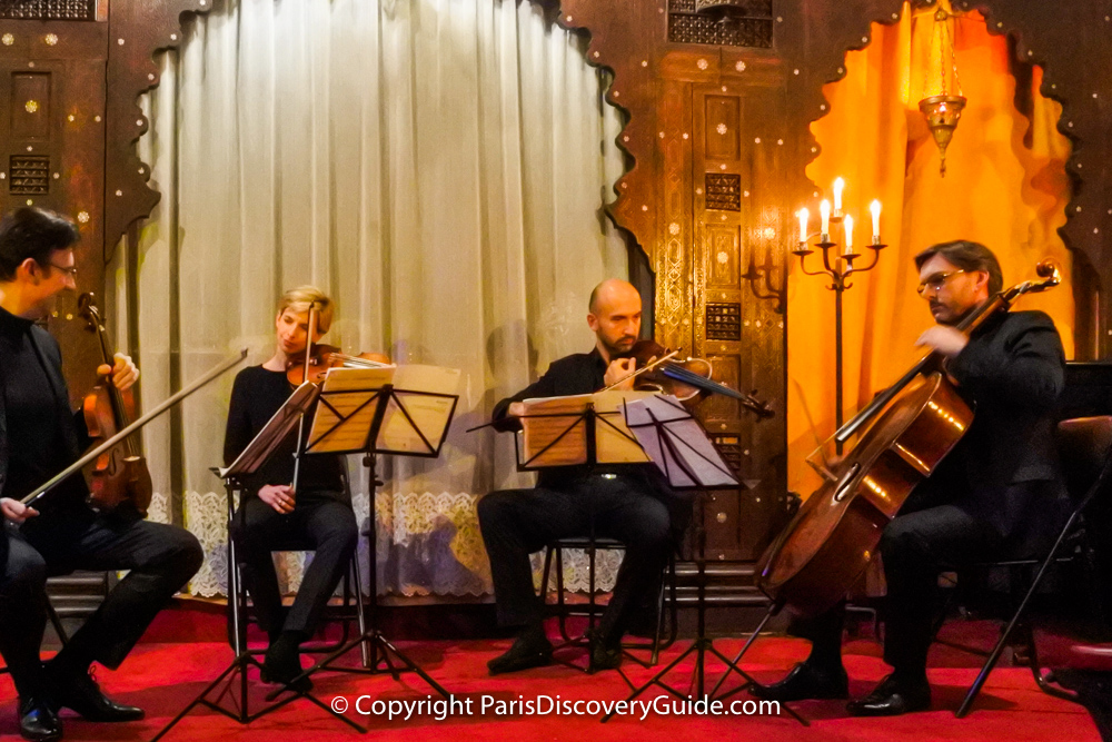 Classical concert by candlelight at Saint Ephrem's Church in the Latin Quarter