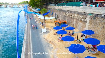 Paris beaches and other top August events in Paris