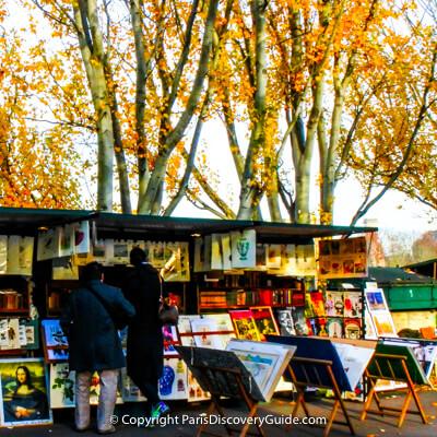 Paris events for each month
