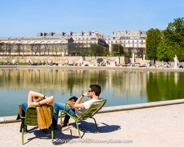Free things to do in Paris - Jardin des Tuileries