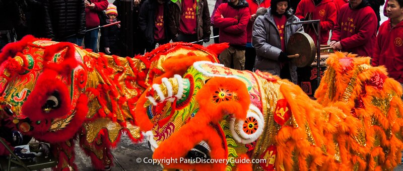 Chinese New Year Parades in Paris - dates and locations