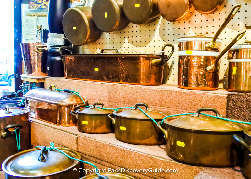 Shopping in Paris - Cookware stores
