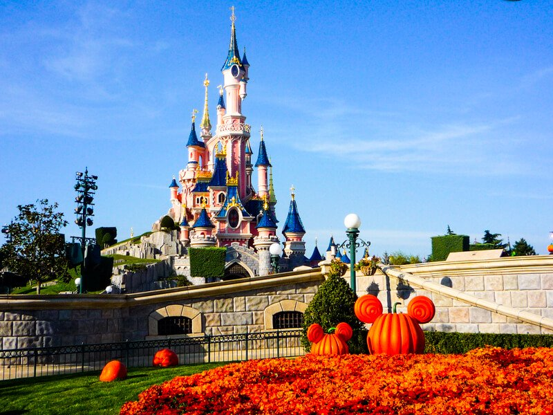 Halloween at Disneyland Paris during October
