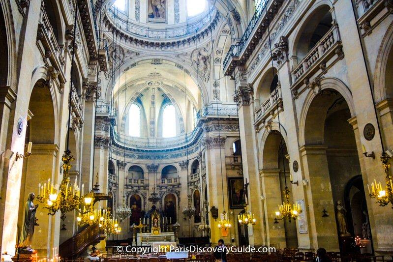 Saint Paul Saint Louis Church in Paris - Concert schedule