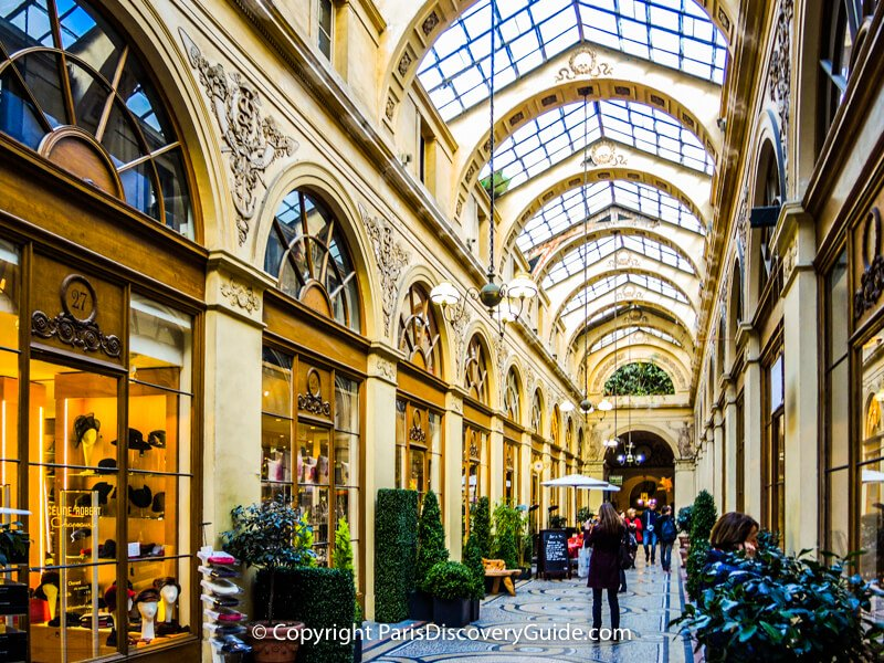 Galerie Vivienne, covered shopping arcade in Paris's 2nd Arrondissement