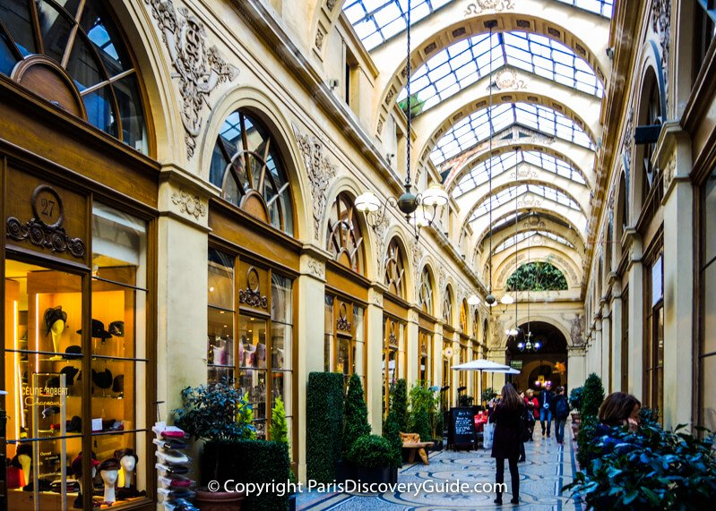 Shopping in Paris - Historic Shopping Arcades and Galeries