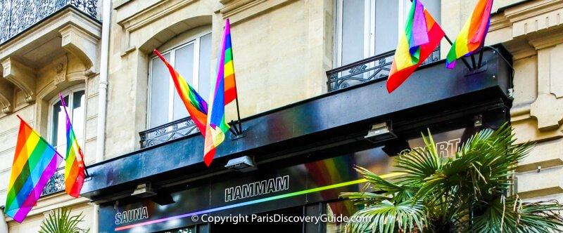 Paris Hotels near Paris Pride Parade and parties