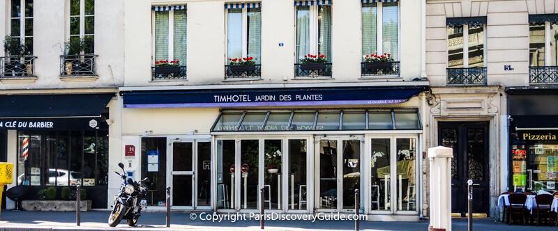 Timhotel in 5th Arrondissment - good choice for Paris Marathon visit