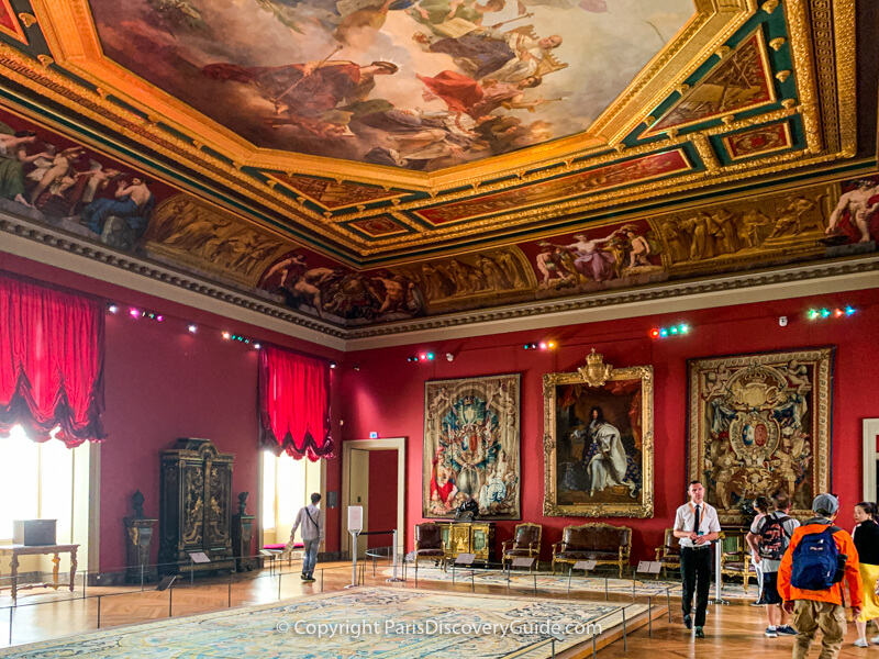 Another Louis XIV room in the Louvre