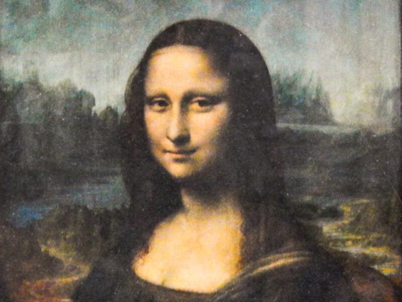 Leonardo da Vinci's Mona Lisa - Paris Museum Exhibits in October