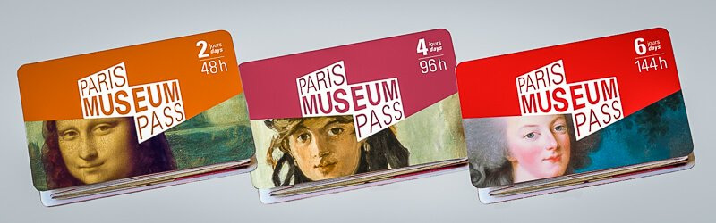 Paris Museum Passes for 2, 4, and 6 days