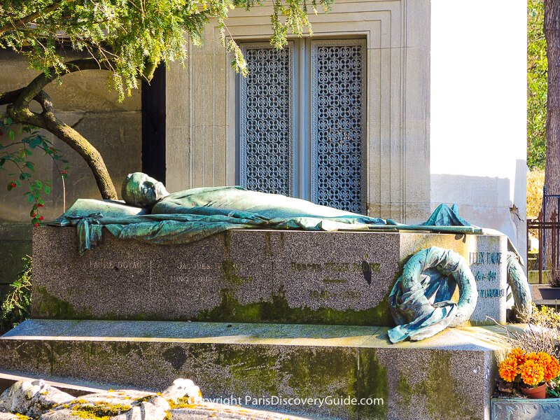 Tomb of Felix Faure at Pere Lachaise