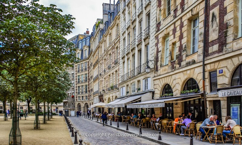 Restaurants in Place Dauphine