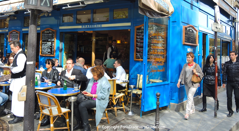 Outdoor dining in Paris - and more things to do in Paris in March