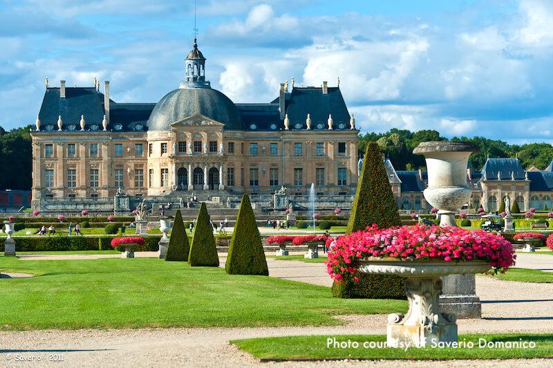 Château Vaux le Vicomte and gardens
