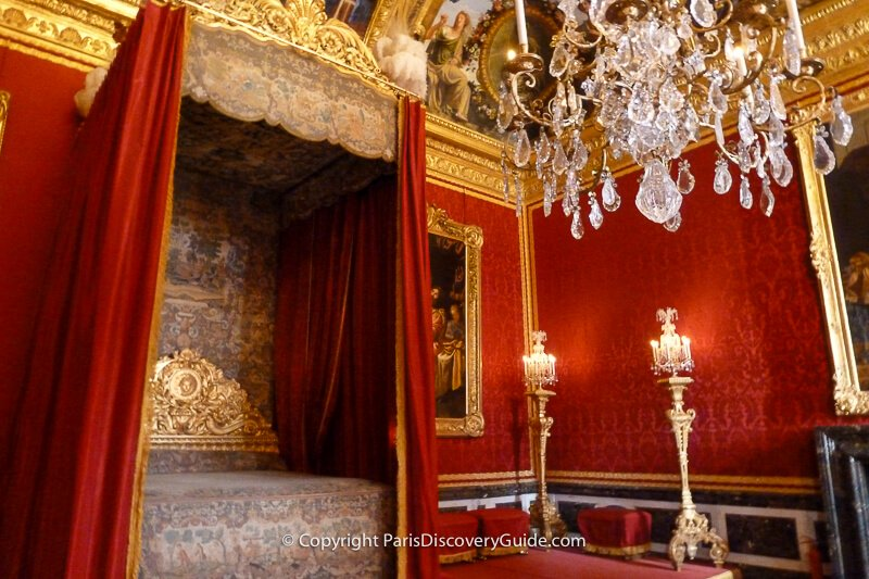 The Mercury Room in the King's State Apartments at Versailles